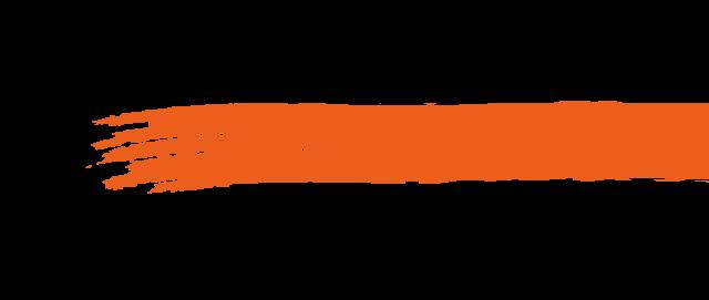 pennellata orange